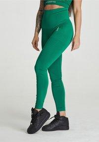 carpatree - SEAMLESS LEGGINGS MODEL ONE - Trikoot - green - 0
