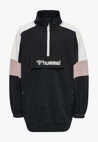 Hummel - VALERIE LONG UNISEX - Sweatshirt - black - 0