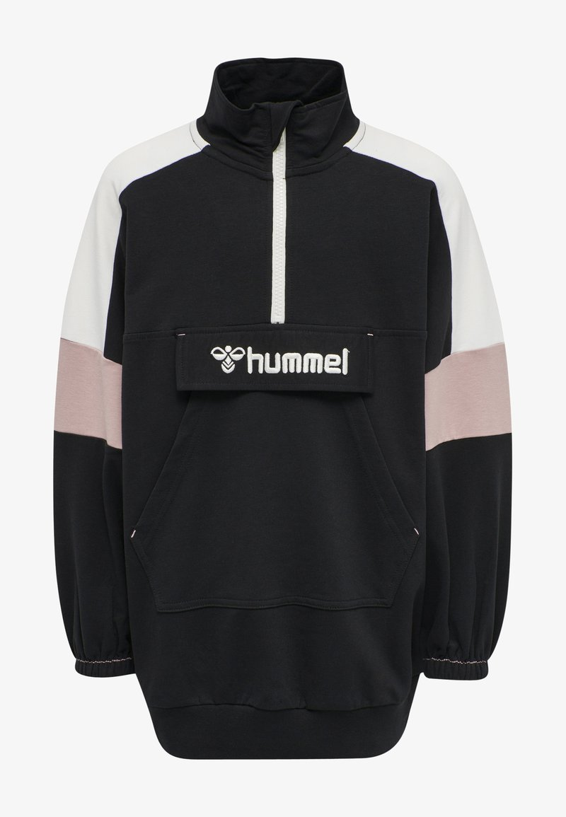 Hummel - VALERIE LONG UNISEX - Sweatshirt - black