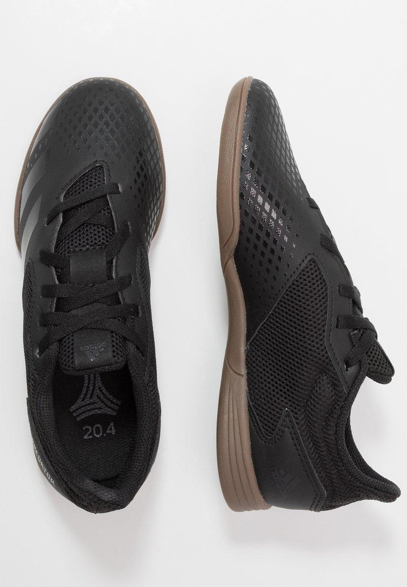adidas Performance - PREDATOR 20.4 IN SALA - Halové fotbalové kopačky - core black/dough solid grey