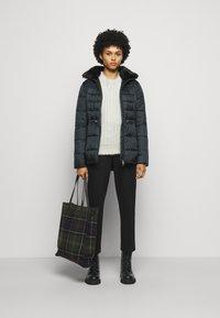 Barbour - ANGUS QUILT - Short coat - black - 1