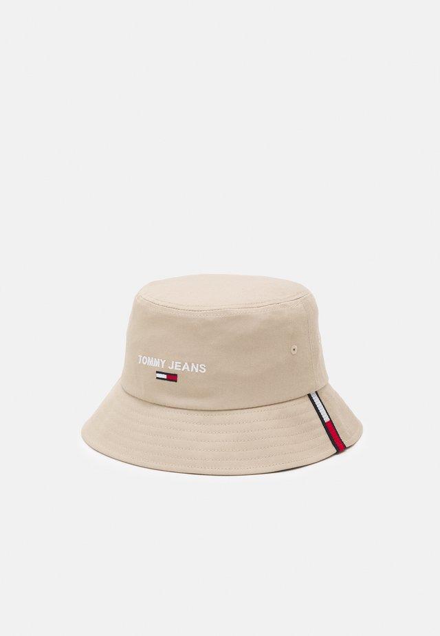SPORT BUCKET UNISEX - Mütze - beige