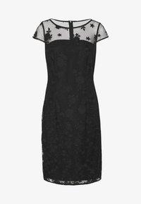 Esprit Collection - DEGRADÉ FLORAL - Sukienka koktajlowa - black - 4