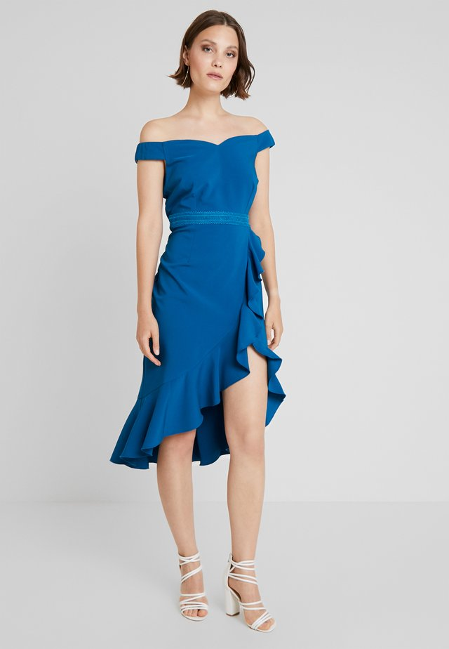 Cocktail dress / Party dress - lagoon blue