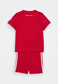 adidas Performance - FC BAYERN MUENCHEN SPORTS FOOTBALL MINIKIT SET - Club wear - fcb true red - 1