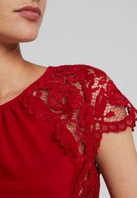 TFNC - PEARLY MAXI - Společenské šaty - burgundy - 6