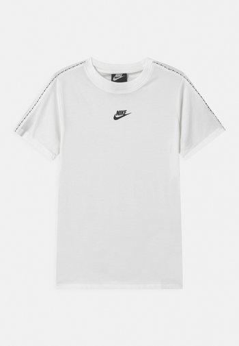 REPEAT - Print T-shirt - white/black