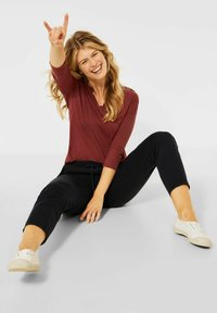 Cecil - Long sleeved top - braun - 1