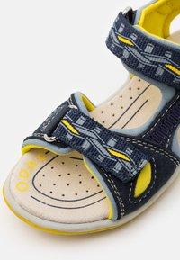 Friboo - LEATHER - Walking sandals - dark blue - 5