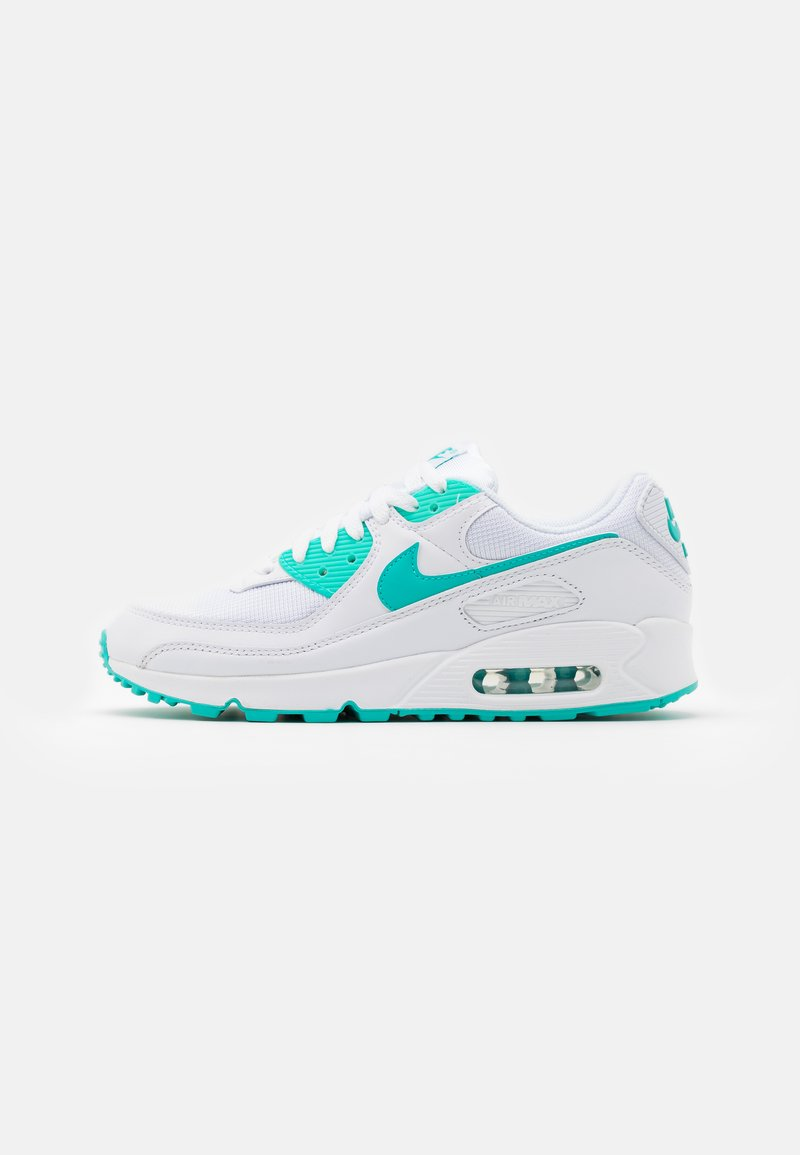 Nike Sportswear - AIR MAX 90 - Sneakers basse - white/hyper jade/black