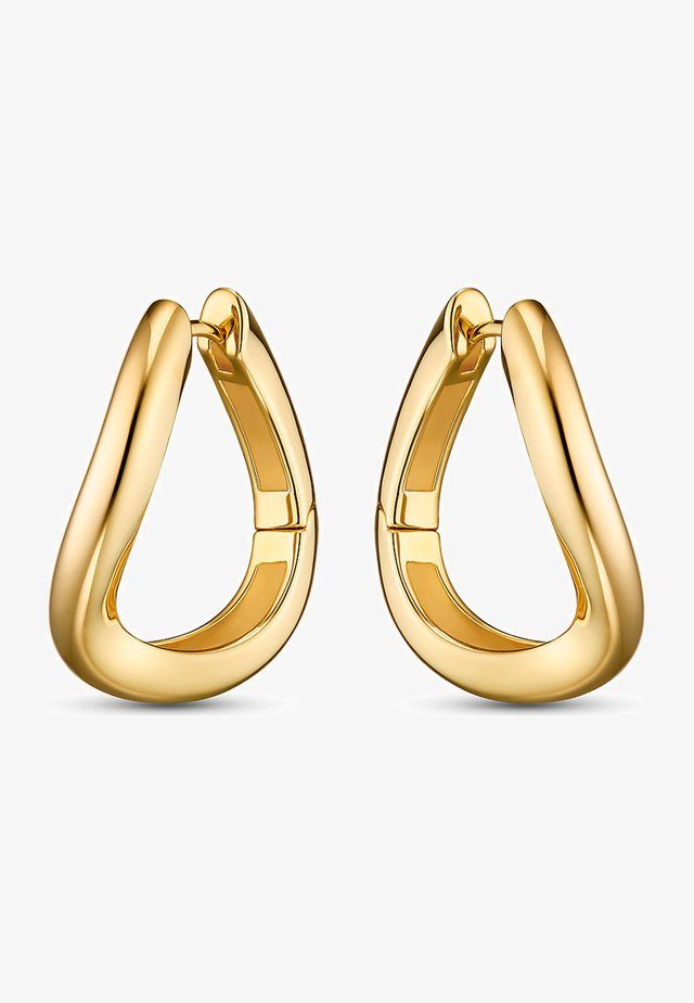 Earrings - gelbgold