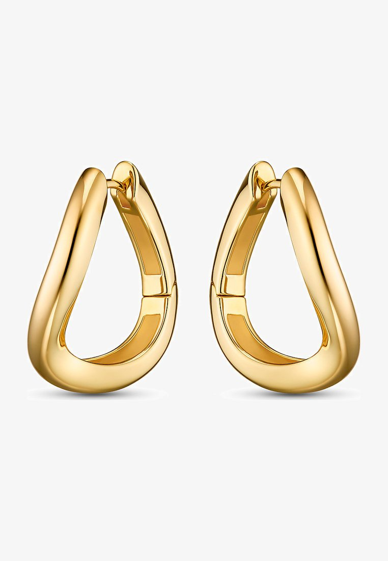 JETTE - Earrings - gelbgold