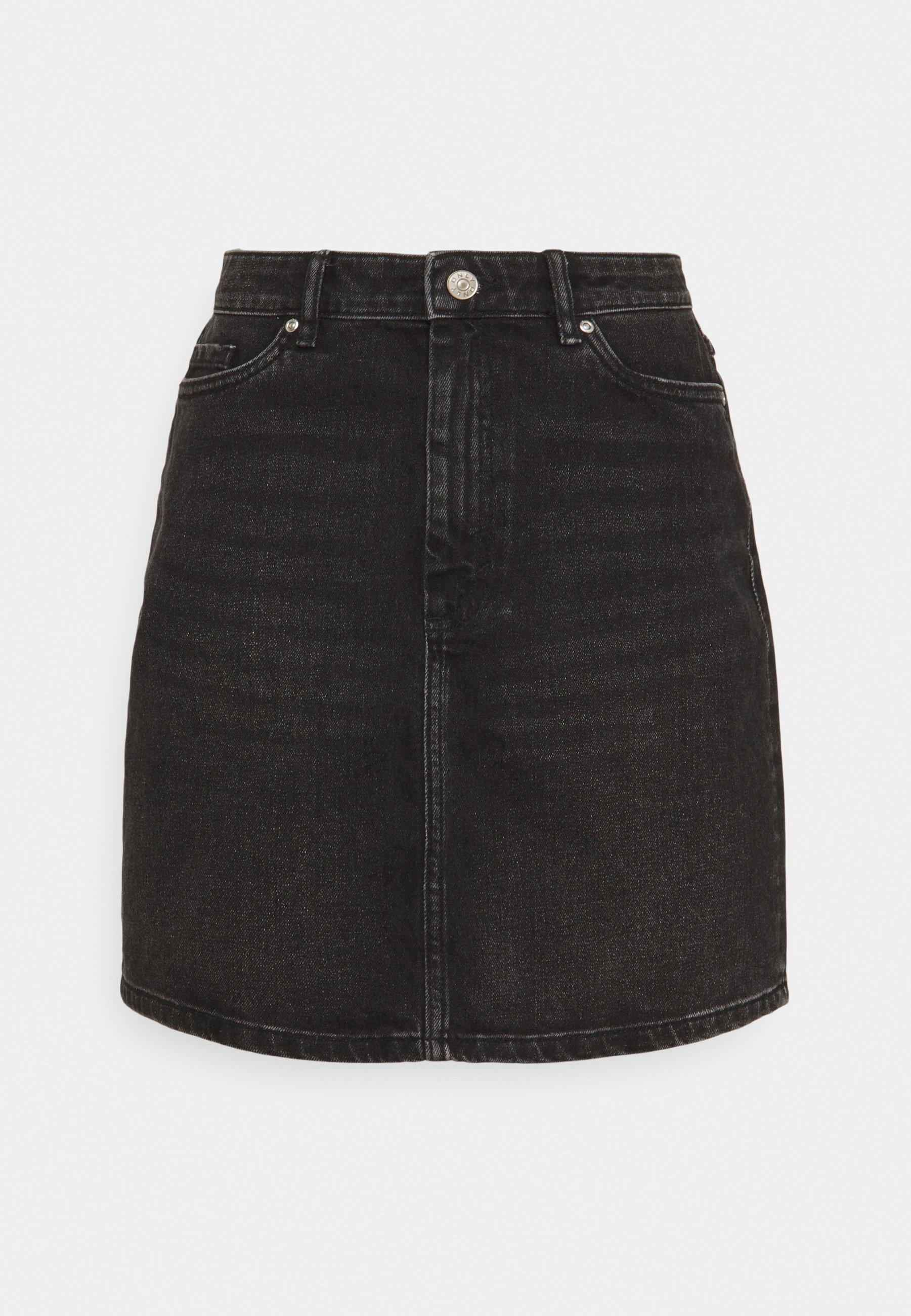 Women ONLROSE LIFE ASHAPE SKIRT - Mini skirt