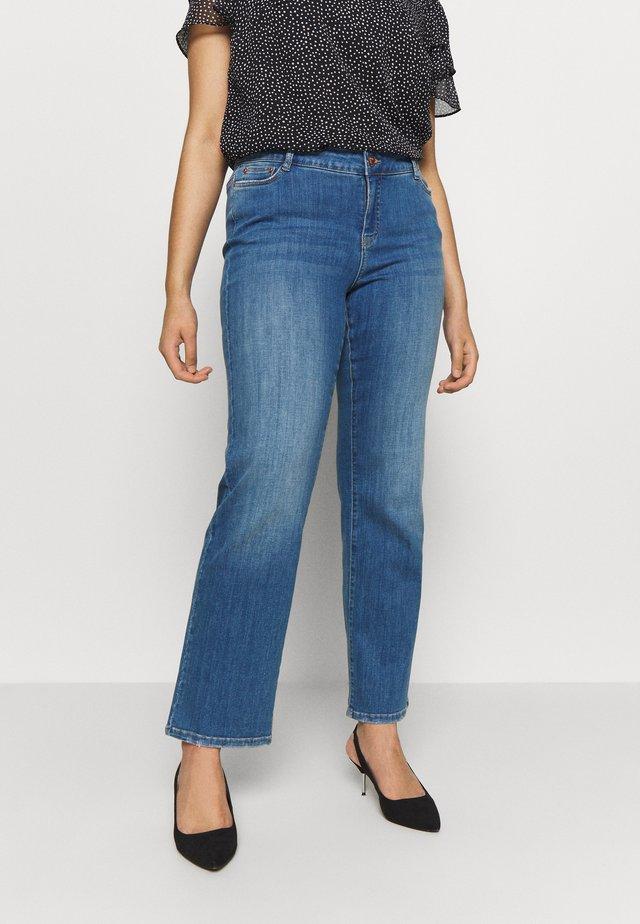 JRTEN - Jeans straight leg - medium blue denim