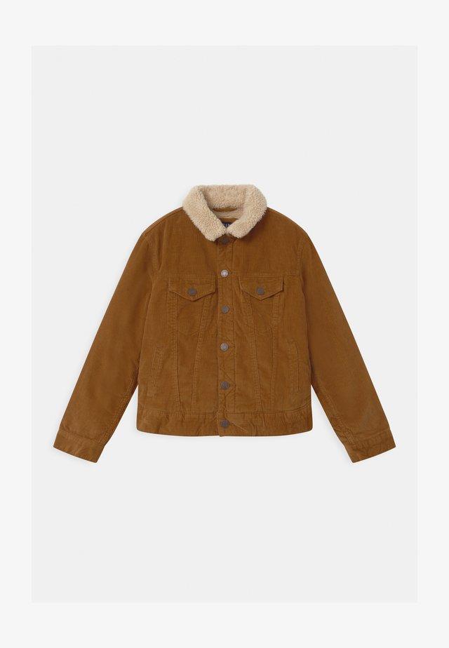 BOYS - Light jacket - deep camel