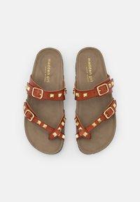 Madden Girl - BRYCEEE - Sandály s odděleným palcem - cognac paris - 5
