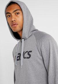 ASICS - BIG HOODIE - Hoodie - mid grey heather/dark grey - 3