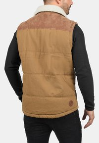 Solid - FERDI - Waistcoat - brown - 1