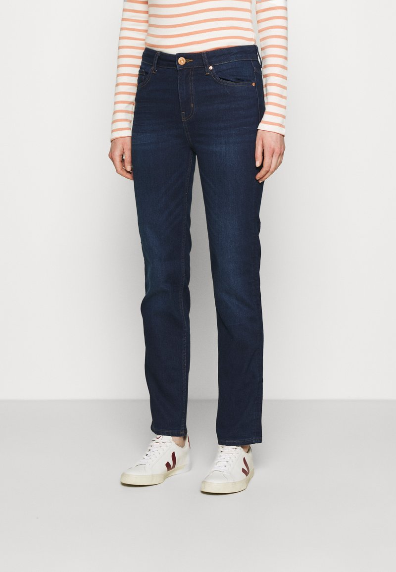 Marks & Spencer London - SIENNA - Jeans straight leg - blue denim