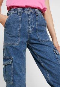 BDG Urban Outfitters - SKATE - Straight leg jeans - blue denim - 3