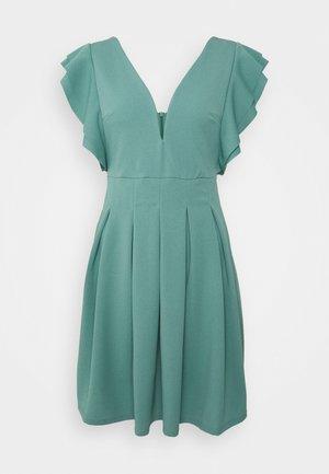 JESSIE SKATER DRESS - Sukienka letnia - sage green