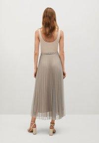Mango - BREEZE-A - Pleated skirt - beige - 2