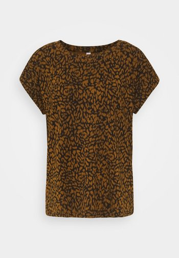 SC-KRISTA 2 - Print T-shirt - brown