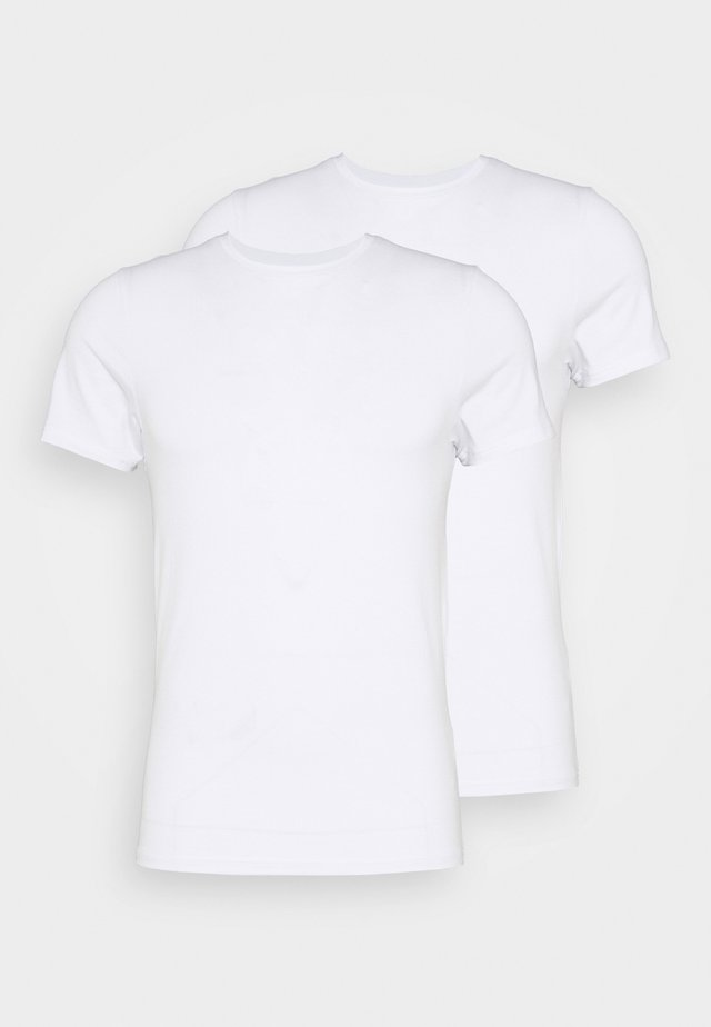O-NECK 2 PACK - Undershirt - weiss