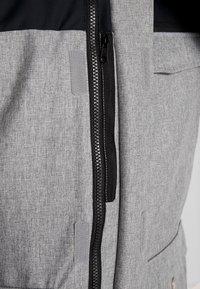 Wearcolour - ROAM JACKET - Snowboardjakke - grey melange - 4