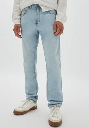 Straight leg -farkut - stone blue denim
