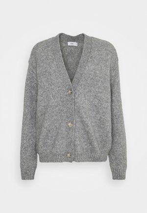 Cardigan - grey heather melange