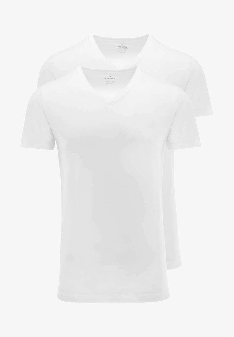 Ragman - Basic T-shirt - weiß