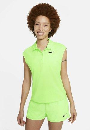 VICTORY  - Sports shirt - lime glow/black