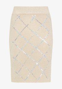faina - Pencil skirt - beige - 4
