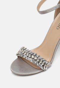 BEBO - CHRISTAL - High heeled sandals - grey - 7