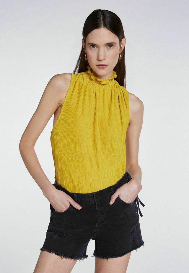 Blouse - yellow sun