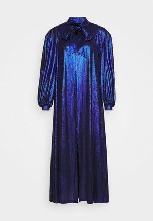 BIANCA DRESS - Maxikjole - metallic blue