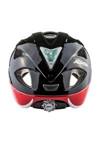 Alpina - XIMO FLASH - Helm - black-red-white star - 3