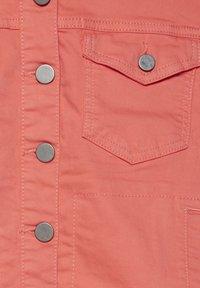 Fransa - FRIVTWILL  - Denim jacket - shell pink - 5