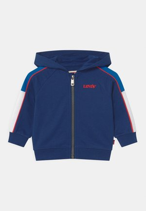 COLORBLOCKED HOODIE - veste en sweat zippée - estate blue