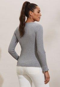 Odd Molly - LINDSAY - Long sleeved top - grey melange - 1