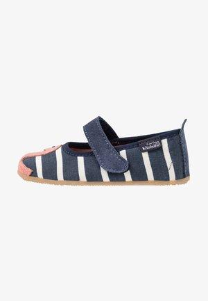 BALLERINA GESTREIFT FLAMINGO - Ankle strap ballet pumps - ocean