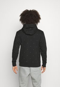 Calvin Klein Golf - ALL OVER PRINT HOODIE - Sweatshirt - black - 2