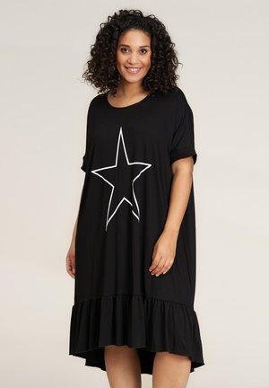 DORIS - Jersey dress - black