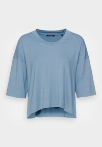 Marc O'Polo - CROPPED WIDE FIT WIDER SHORT SLEEVES - Basic T-shirt - fall sky - 3