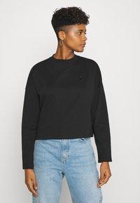 Nike Sportswear - W NSW LS  - Long sleeved top - black - 0
