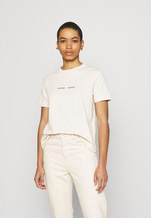 BARLETTA - Print T-shirt - warm white
