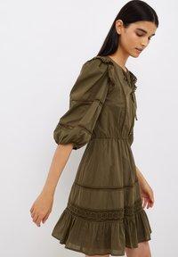 Liu Jo Jeans - Jersey dress - olive - 1