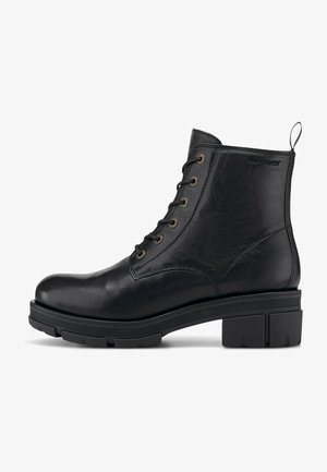 CECILIA - Lace-up ankle boots - schwarz
