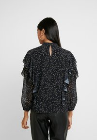 We are Kindred - AMALFI BLOUSE - Bluzka - noir - 2